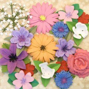 Rosas e Flores de Papel